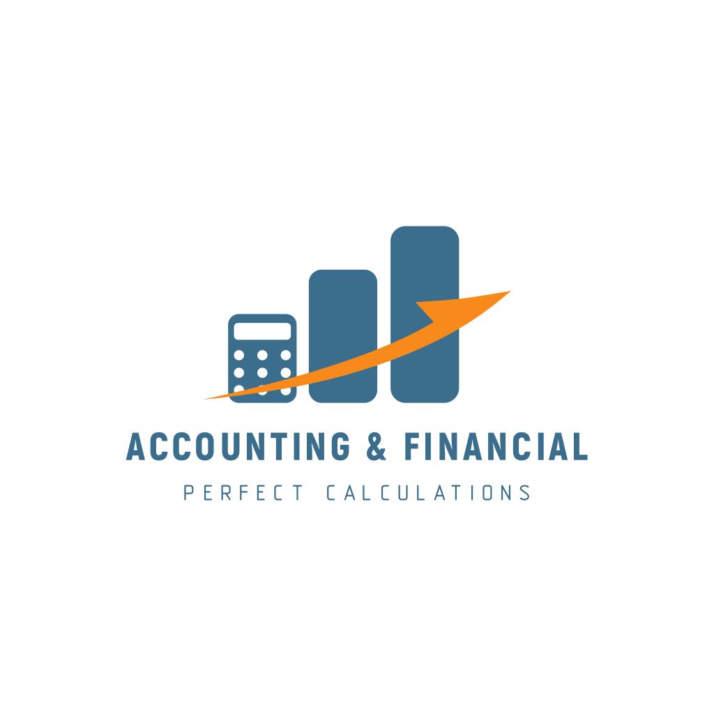 Accounting Financial Services Center Logo Logos Accounting Logo Financial Logo