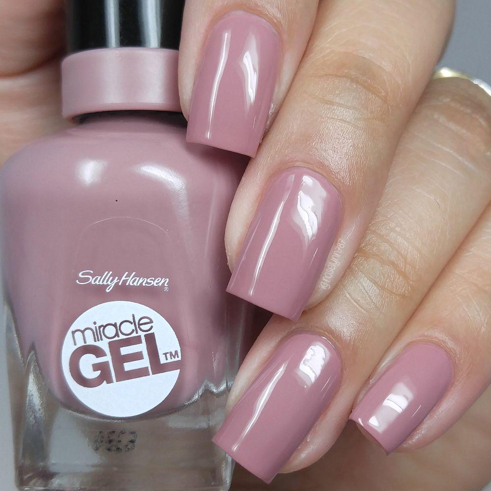 Sally Hansen - Make Me Mauve   Nails done fancy   Pinterest   Esmalte