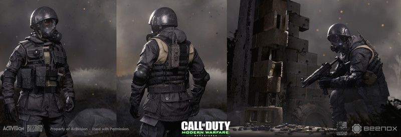 Artstation Call Of Duty Modern Warfare Remastered S A S Faction Sebastien Giroux In 2020 Modern Warfare Warfare Call Of Duty