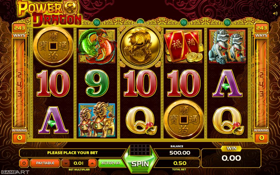 Spiele Power Dragon - Video Slots Online