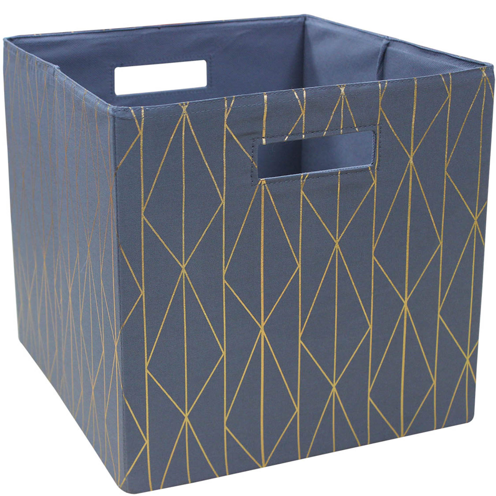 Better Homes And Gardens Fabric Cube Storage Bin 12 75 X 12 75 Single Unit Multiple Colors Walmart Com Cube Storage Bins Cube Storage Better Homes And Gardens