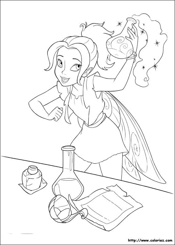 Pin By Jenny Schuh On Ausmalbilder Tinkerbell Coloring Pages