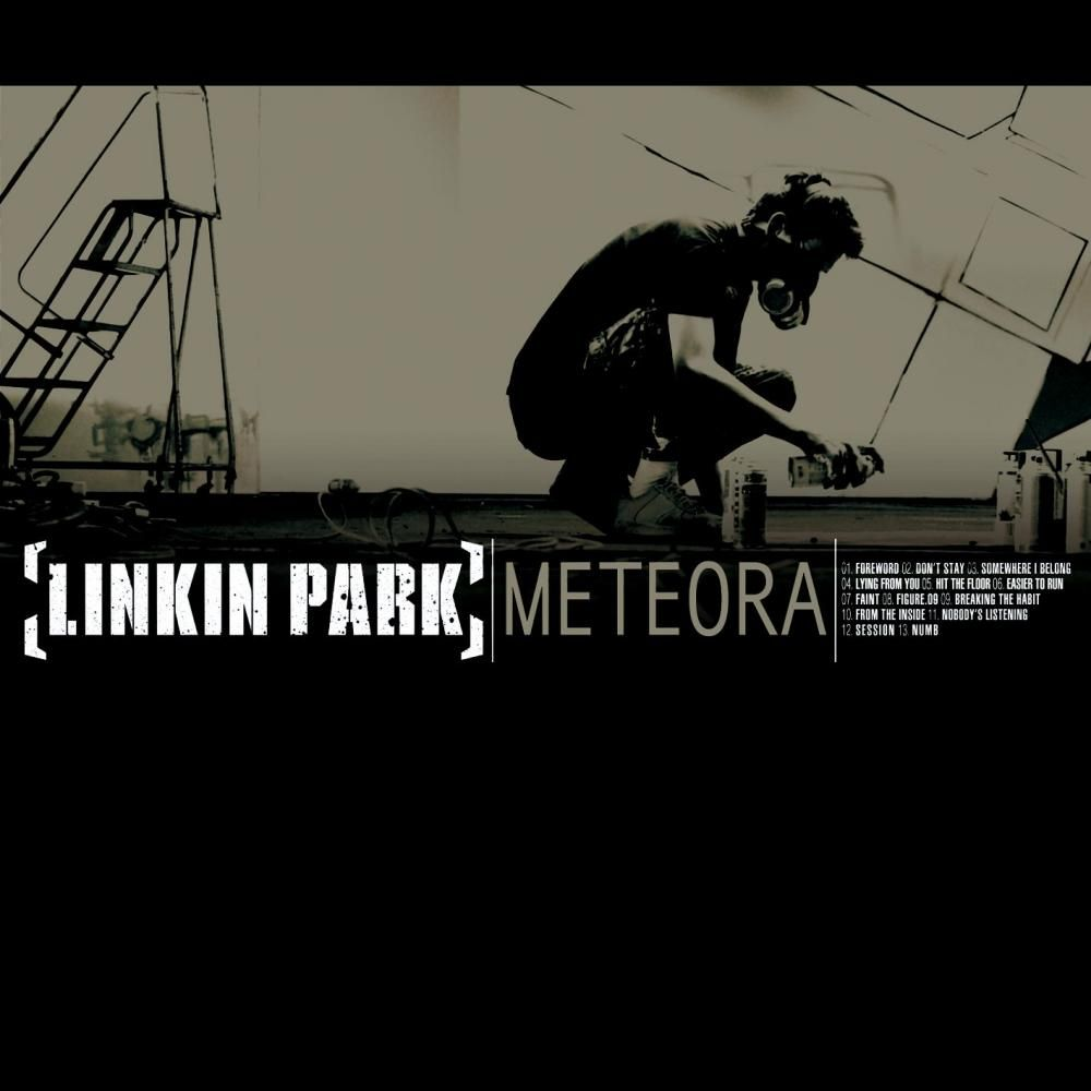Linkin Park - Meteora 2nd album all of the songs are awesome