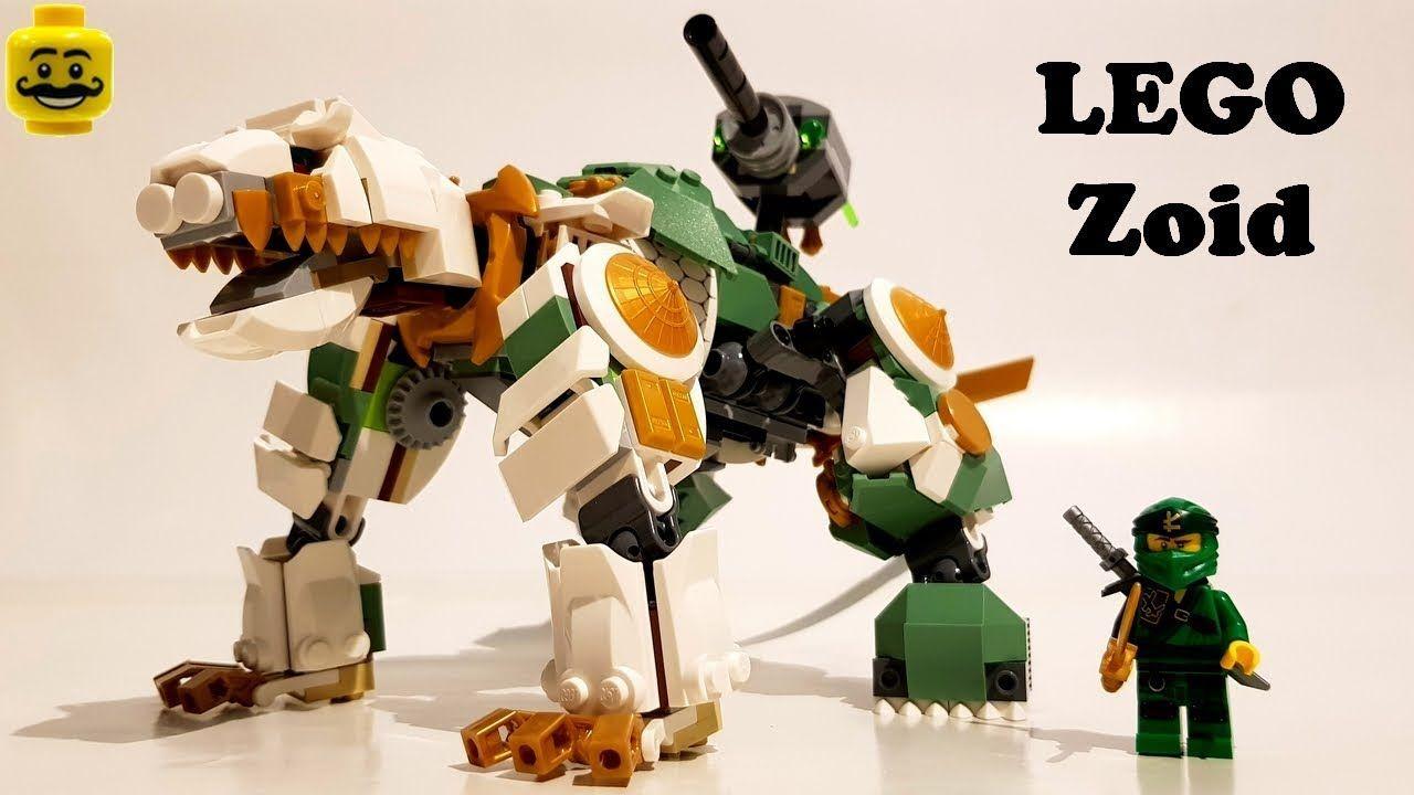 Lego Ninjago 70676 Lloyd S Titan Mech Alternate Build Zoid In 2020 Lego Lego Ninjago Mech