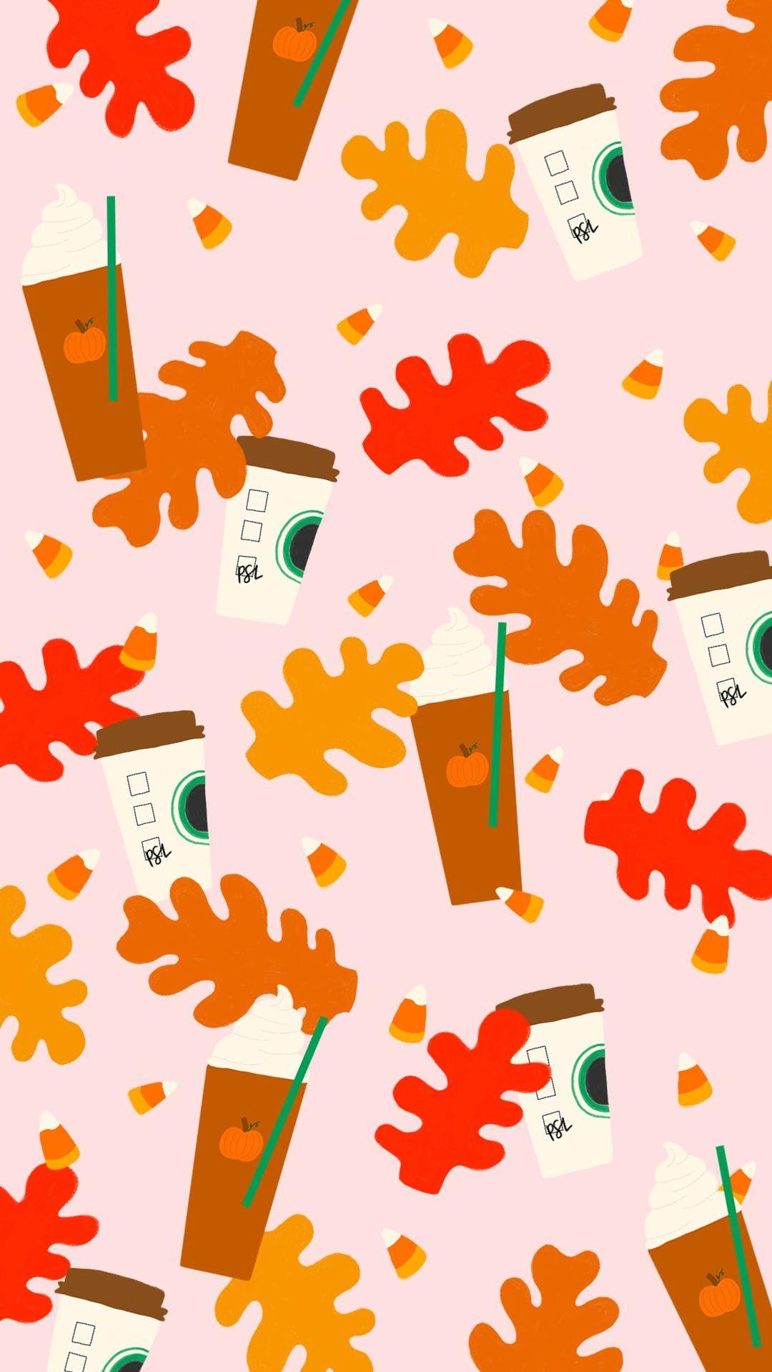 Pumpkinspice Mobile Png 1 080 1 920 Pixels Cute Fall Wallpaper Desktop Wallpaper Fall Fall Wallpaper
