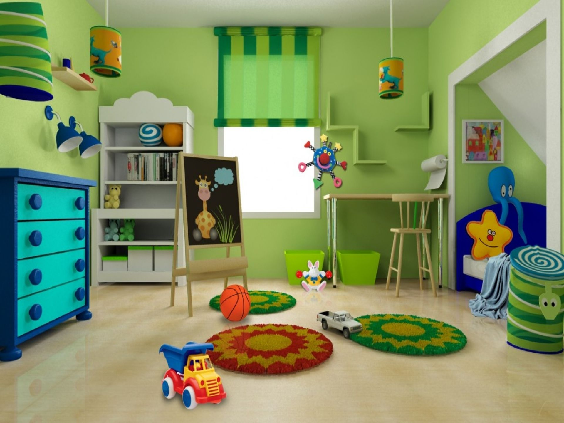 Kinderzimmer gestalten Ideen für ein schickes und