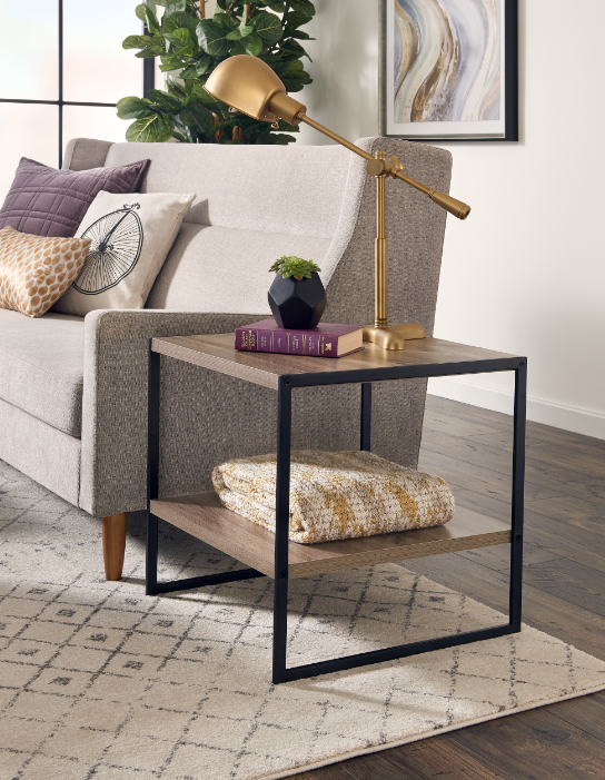 Upgrade Your Storage Next To The Couch With Our Sleek And Modern
