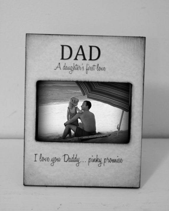 A Daugthers First Love I Love You Daddy Dad Gifts Grey Black