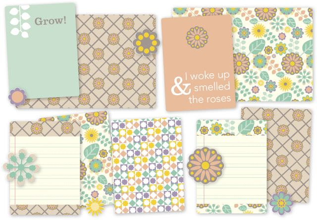 Studio Ann: Free Download! Digital Project Life: Garden
