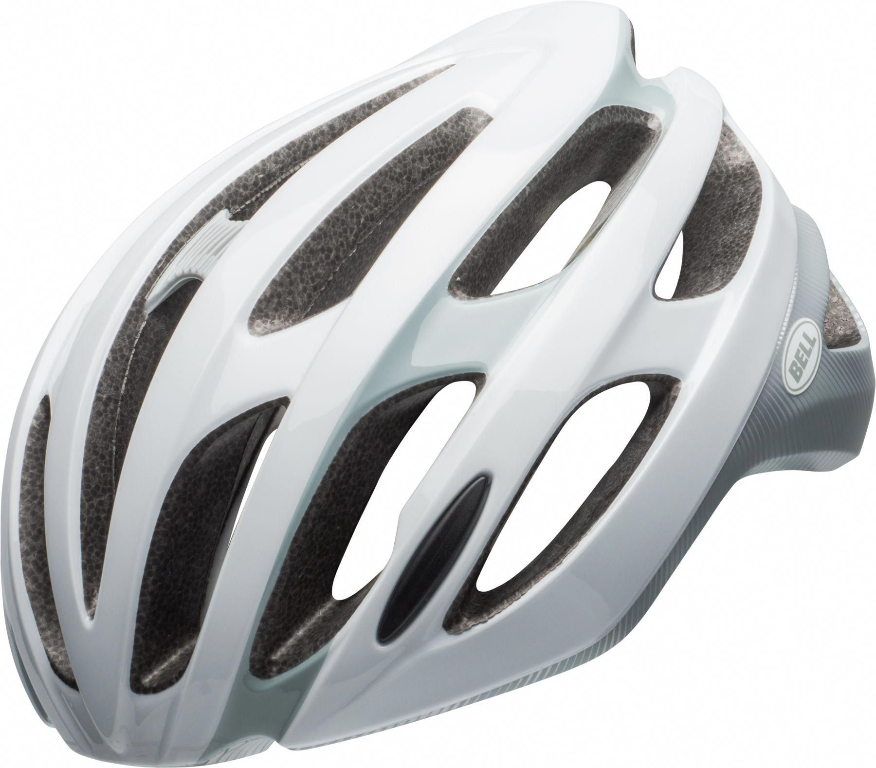 Bell Adult Falcon Mips Bike Helmet Matte Gloss White Grey
