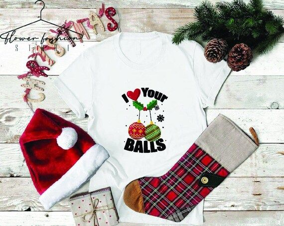 Christmas Shirt, I Like Your Ball, Ugly Christmas Party, Gay Christmas Apparel, Gay Christmas Gifts, Gay Bear, LGBT Xmas Shirt---How To Order ---1-) Please, check and review all photos2-) Choose your t-shirt size and color*Different styles of shirts may have different shades of same color choice due to different manufacturer brands.*For this reason, we recommend you to match shirts from the same styles if you want precisely matching colors (ex. Unisex, V-neck, Tank top, etc.).3-) Click add to ca