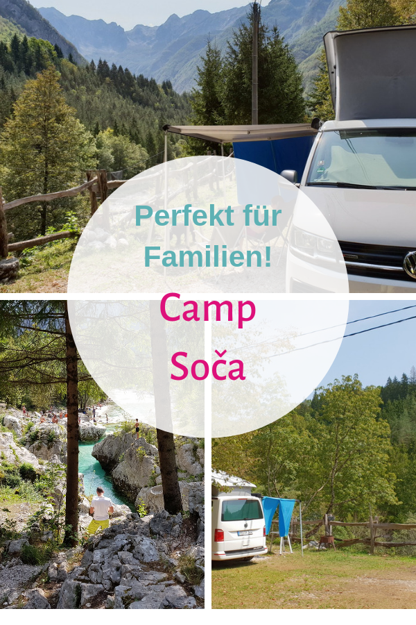 Camp Soča: wonderful nature camping on the most beautiful river in Europe! -  Camping in Slovenia: Camp Soča is one of the most beautiful natural campsites in Europe. The camps - #beautiful #camp #camping #CampingChecklist #CampingProducts #CampingTips #europe #FamilyCamping #nature #river #Soča #VintageTravelTrailers #wonderful