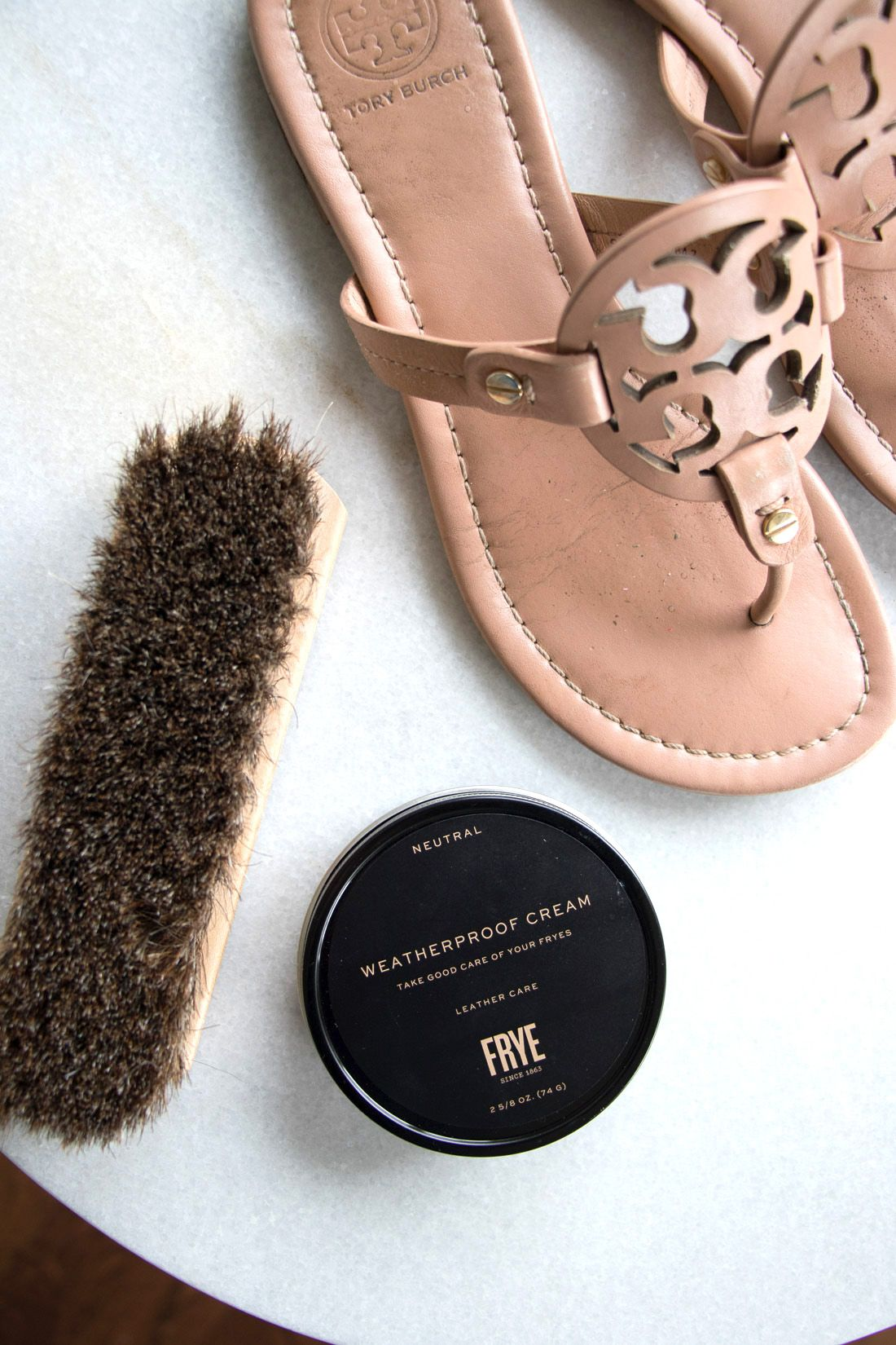 5c819f6a50c Frye Weatherproof Cream - how I use it to protect all of my leather shoes  and bags