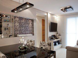 Ilumina o e espelhos bem posicionados ampliam for Sala de 9 metros quadrados