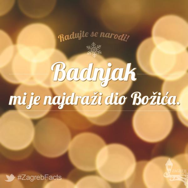 Volimo Badnjak Zagrebfacts Zagreb Zg Agram Badnjak Prosinac Zima Bozic Zagreb Facts Convenience Store Products