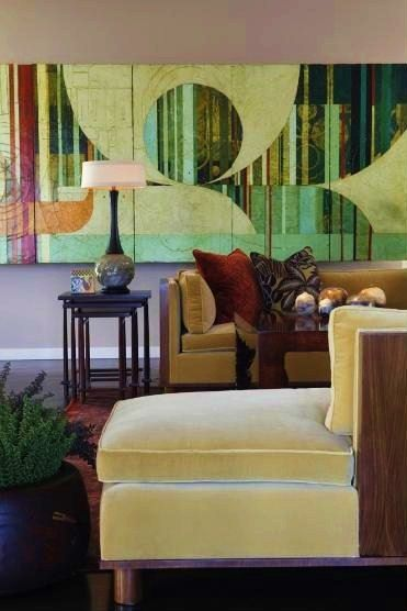 Philpotts Interiors   Art By Jason Rolf