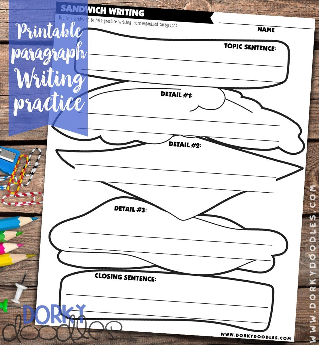Paragraph Structure Writing Practice