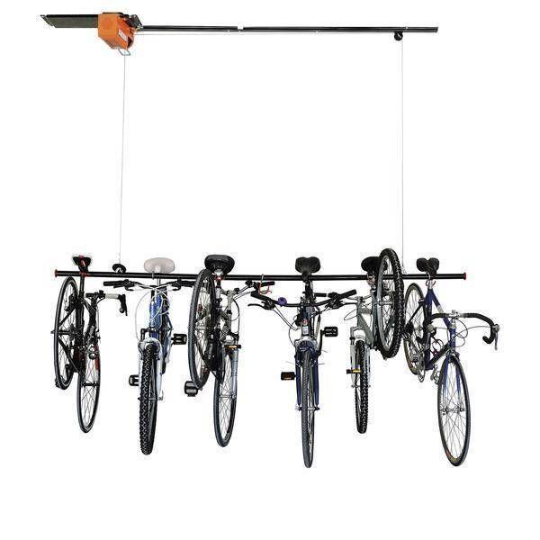 PROSLAT Garage Gator Storage Elevator Eight Bicycle 220 Lb