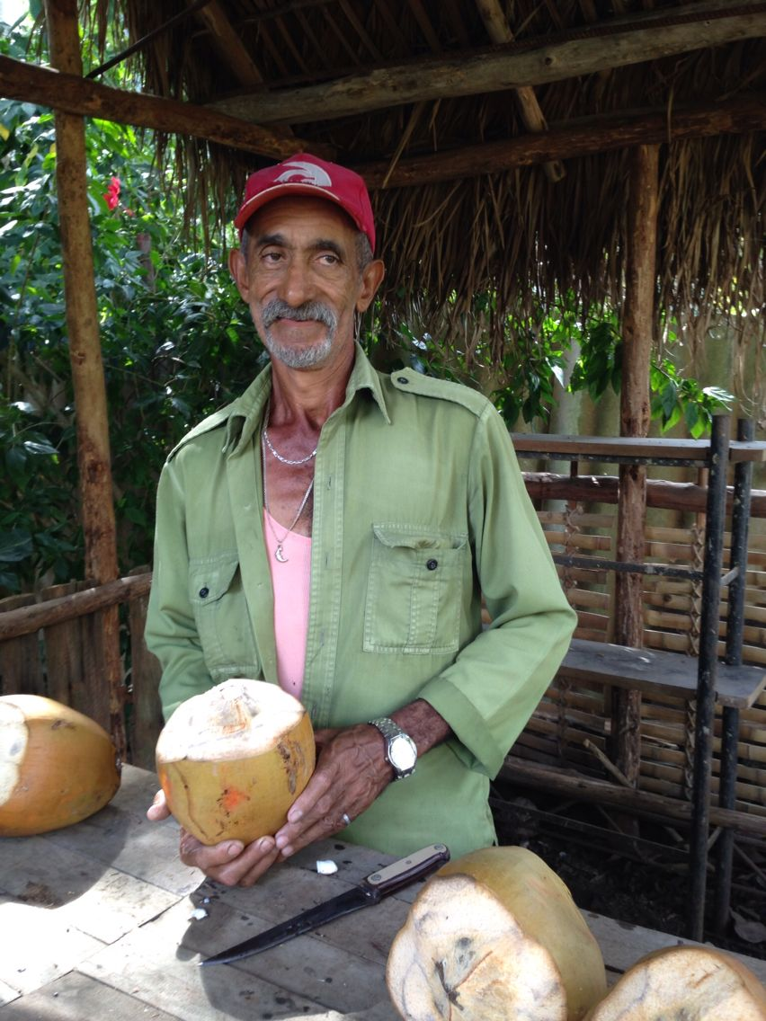I've got a lovely bunch of coconuts! www.finisterra.ca  #travel #cuba