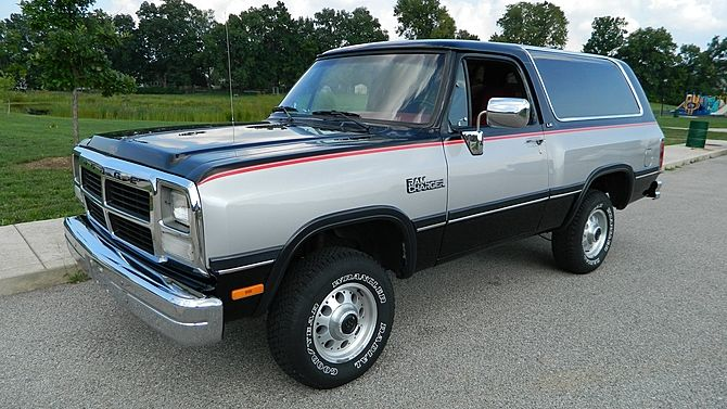 1991 Dodge Ram Charger Le Me Auctions Old Trucks Suv