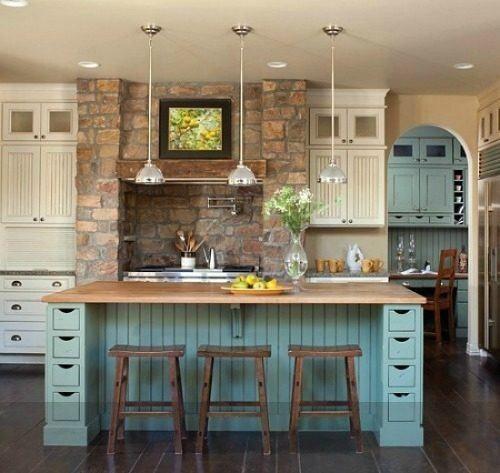 Cocinas rusticas con encanto escaleras pinterest for Cocinas con encanto