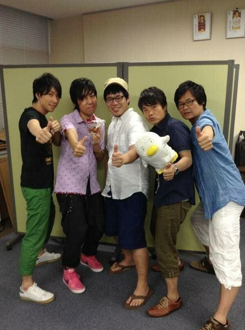Shinsengumi from Gintama cast.
