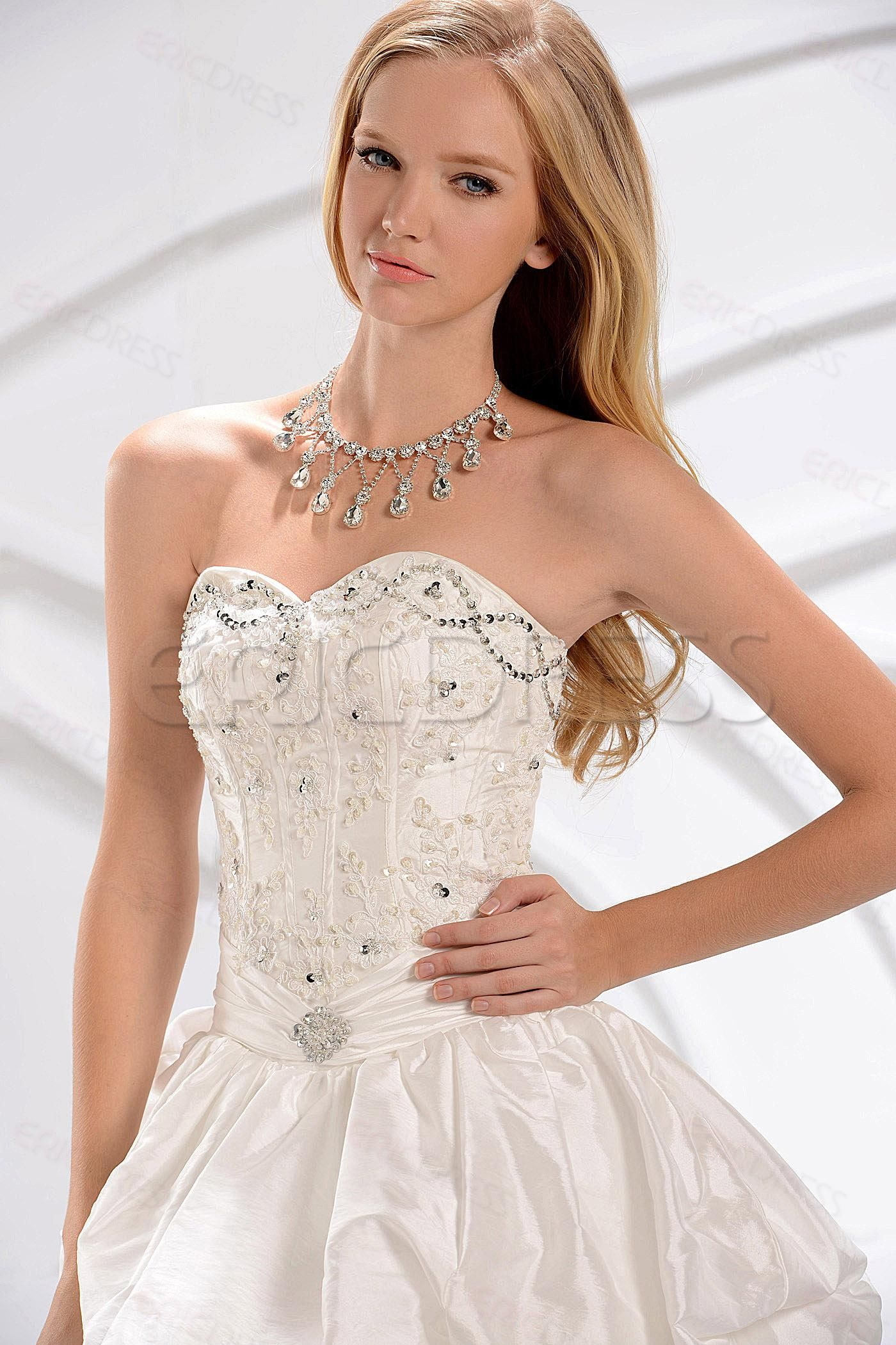 2013 New Style Ball Gown Sweetheart Corset Pickup Wedding