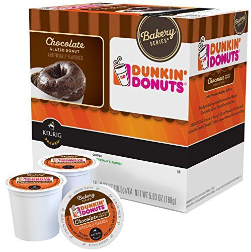 Dunkin Donuts Bakery Series Chocolate Glazed Donut 16 KCups