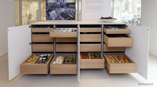Best Interior Drawers Wood Kitchen Design Home Kitchens 400 x 300