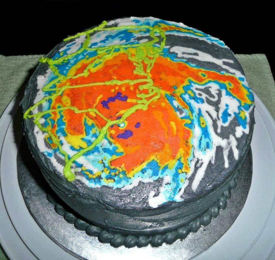 NC hurricane cake! #hurricanefoodideas
