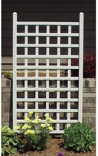 Keghon Country Garden Vinyl Lattice Panel Trellis Garden Trellis Wall Trellis Vinyl Lattice Panels