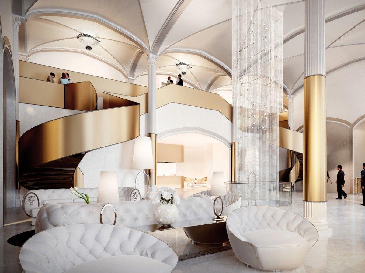 3d rendering luxury hotel lobby china luxury china hotel lobby - Hotel Club Beijing China Visionnaire Home Philosophy Lobby