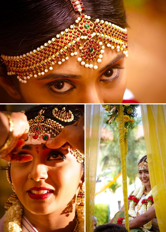 North Bridal Hairstyles With Flowers : Indian brides bridal hairstyle by swank studio. find us at https