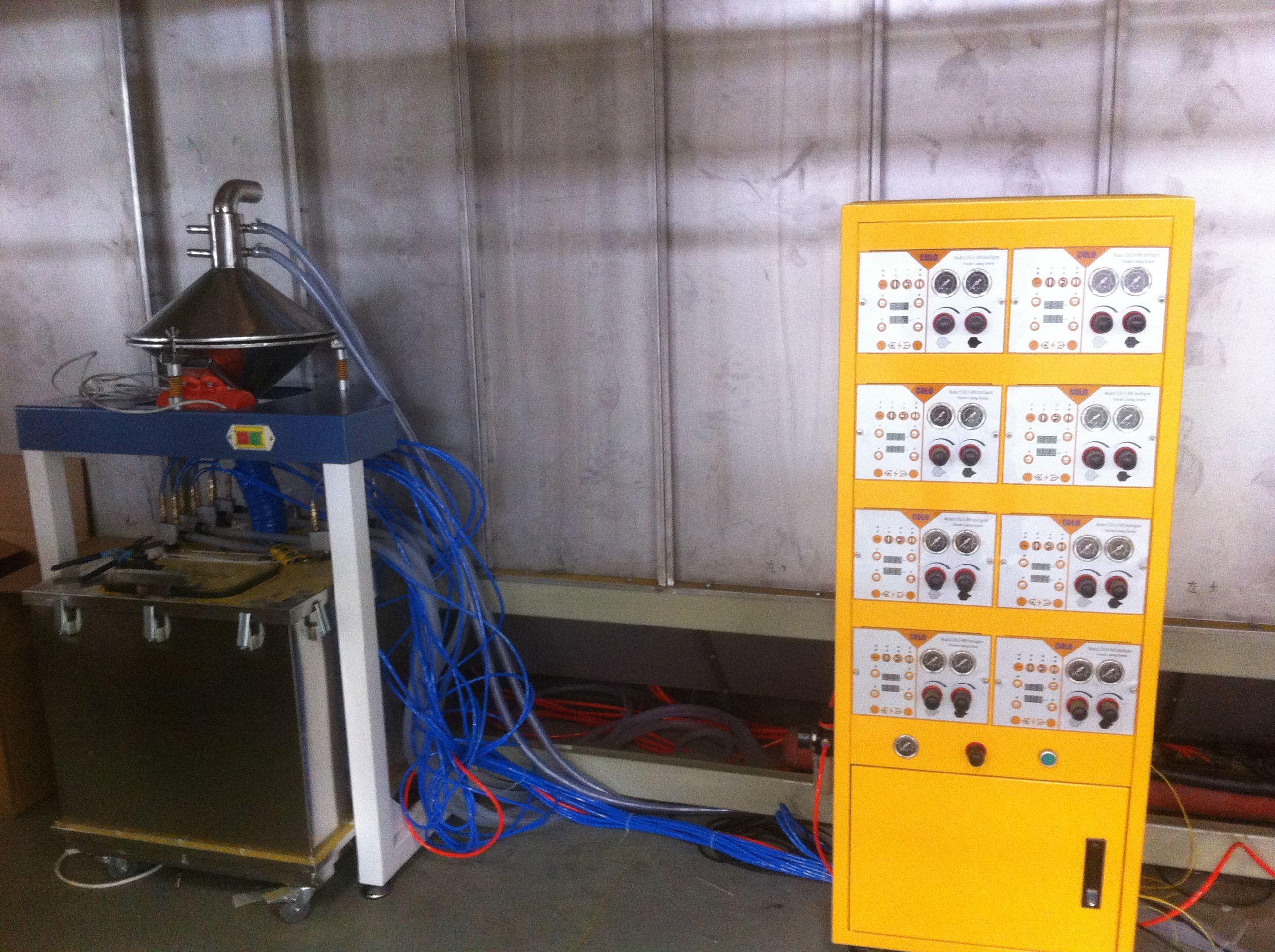 Electrostatic Paint Powder Coating Machine Wholesale Metal Door