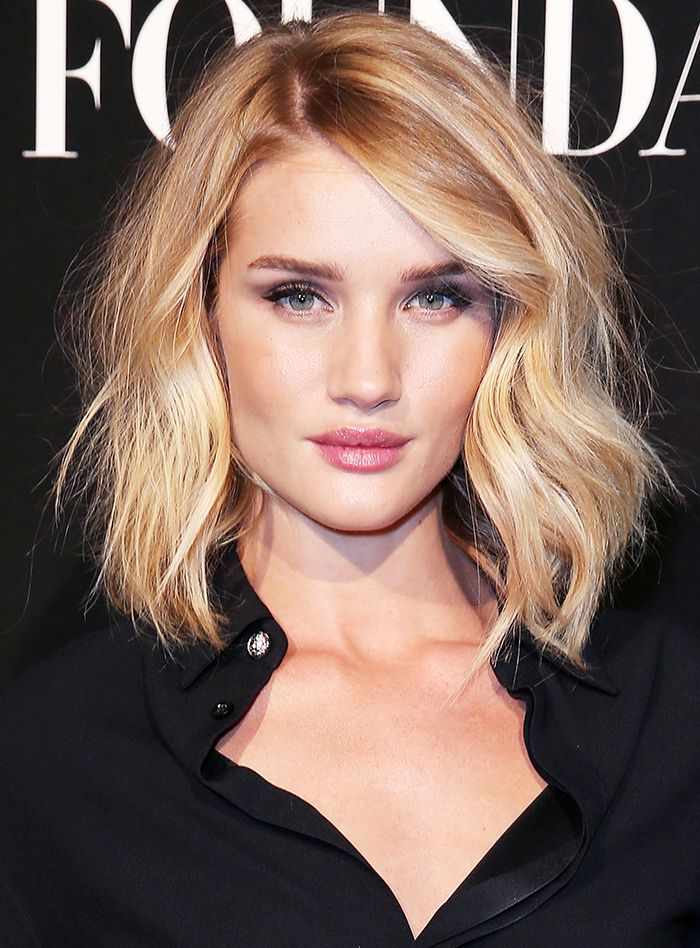 3 Of The Most Flattering Haircuts For Round Faces In 2019 Hair Etc