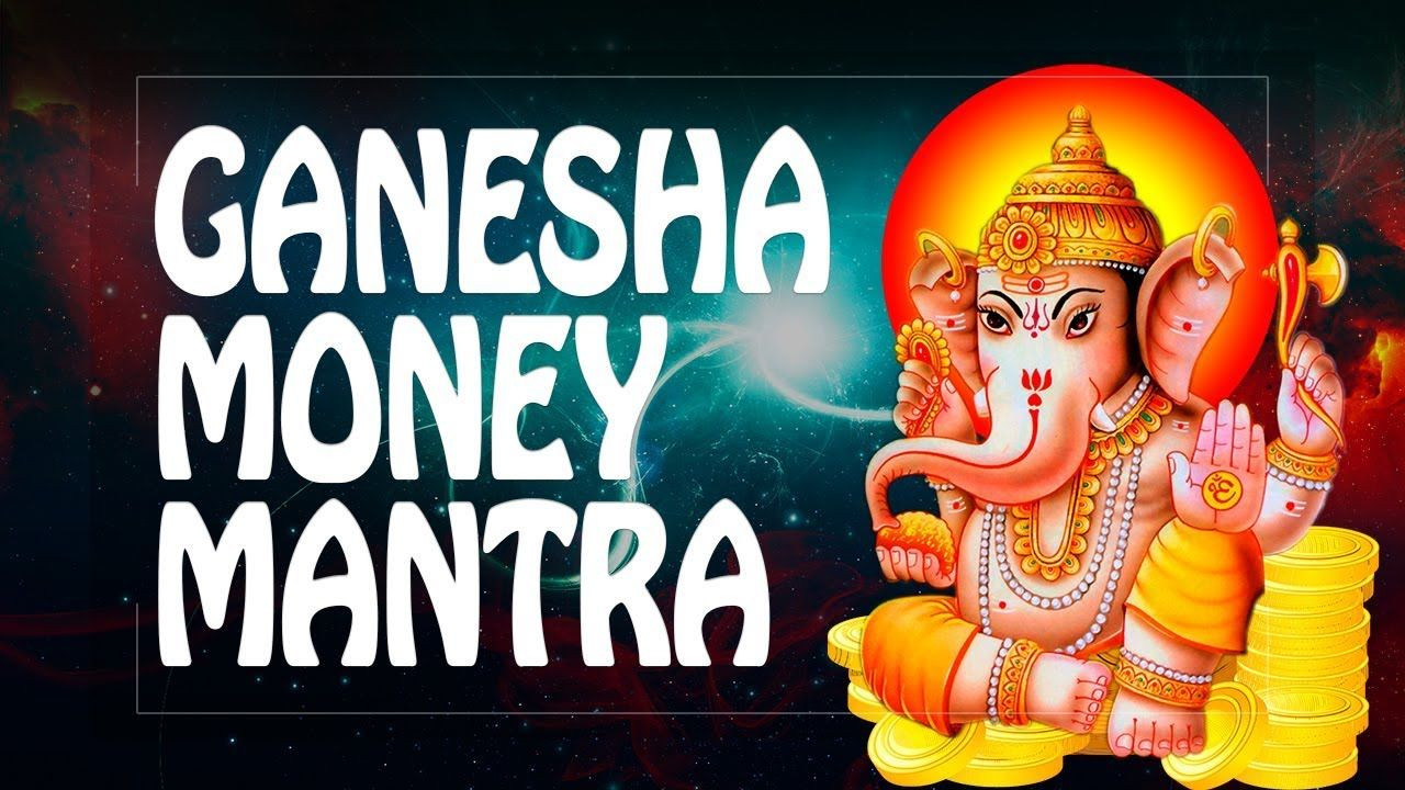 Money mantra Ganesh mantra for money + remove obstacles ॐ