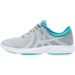 Photo of Nike girls running shoes Revolution 4 (gs), size 35 ½ in pure platinum / metallic silver, size 35 ½