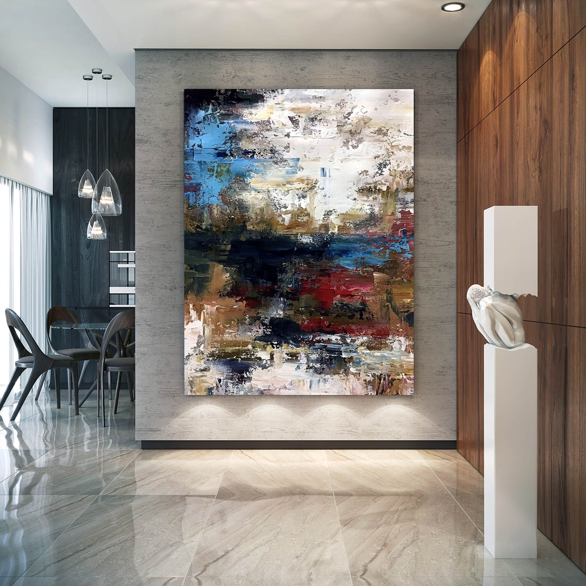 Large Abstract Painting Modern Abstract Painting Original Painting