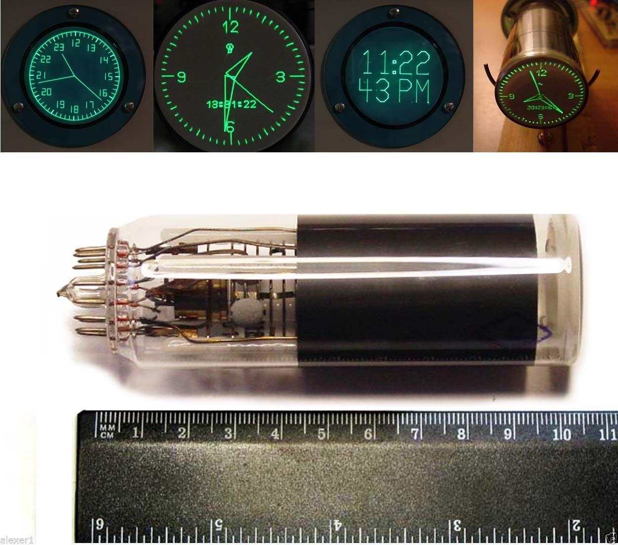 3lo1i Russian Mini Crt Oscilloscope Cathode Ray Tube New In Box