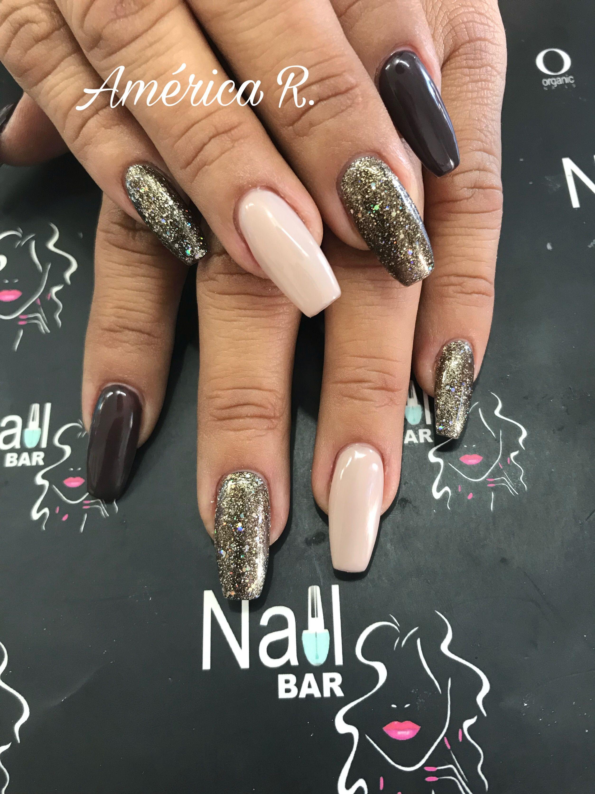 Acrílico y Gel. Acrilyc Nails. NailBar México   Uñas...Nail Bar ...