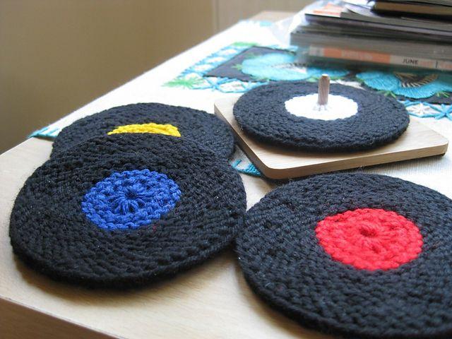 Vinyl Record Coasters Pattern By Ellen Kapusniak Crochet