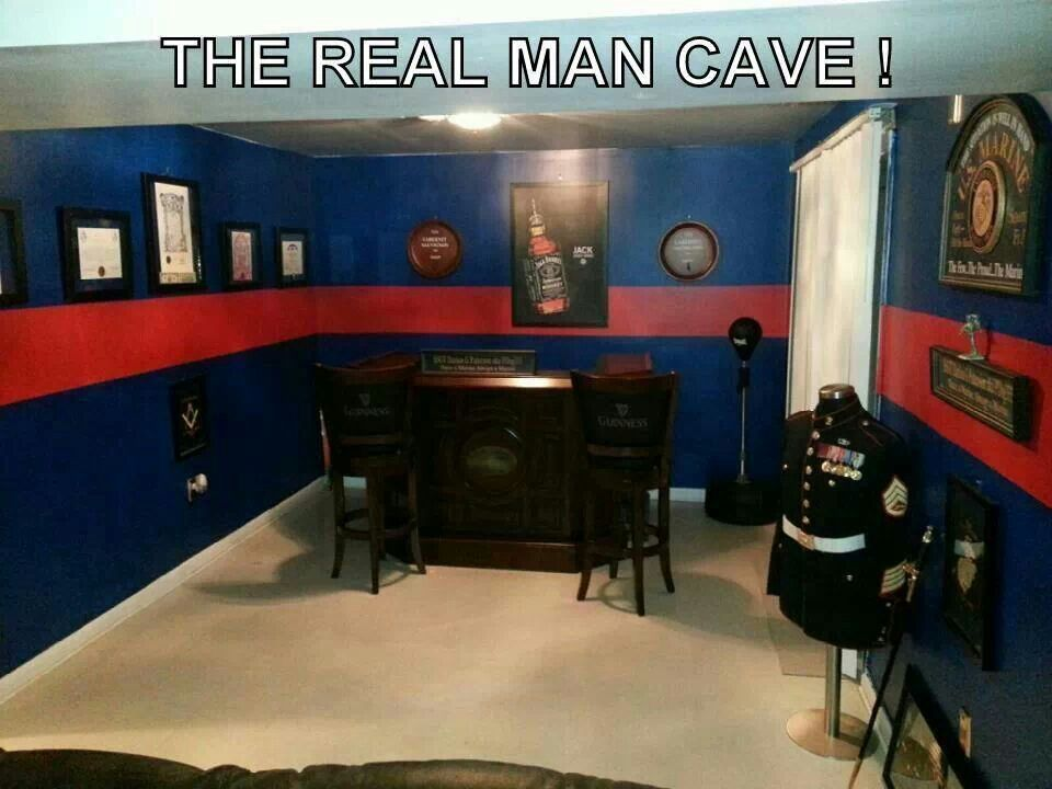 Real Man Cave Marine Trophy Room Room Ideas Man Cave Bedroom