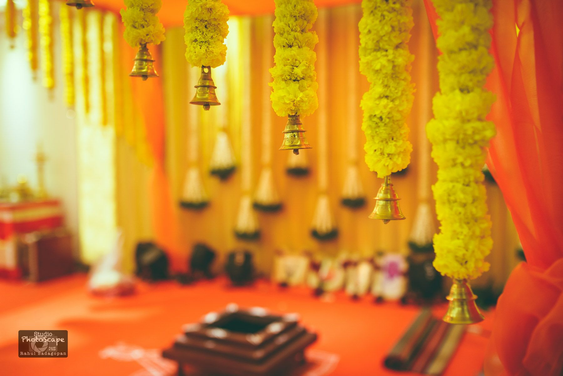 south indian wedding blog, marigold tales, south indian wedding decor