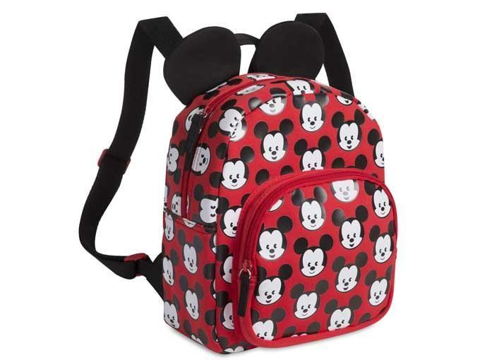 Diseño de Mickey y sus amigos-Mochila, diseño de Mickey Mouse en 3D con bolsillos
