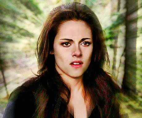 Bella extending her shield.