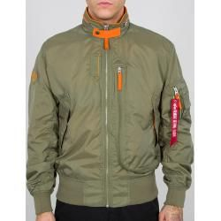 Photo of Alpha Industries Wing Jacket Green L Alpha Industries Inc.