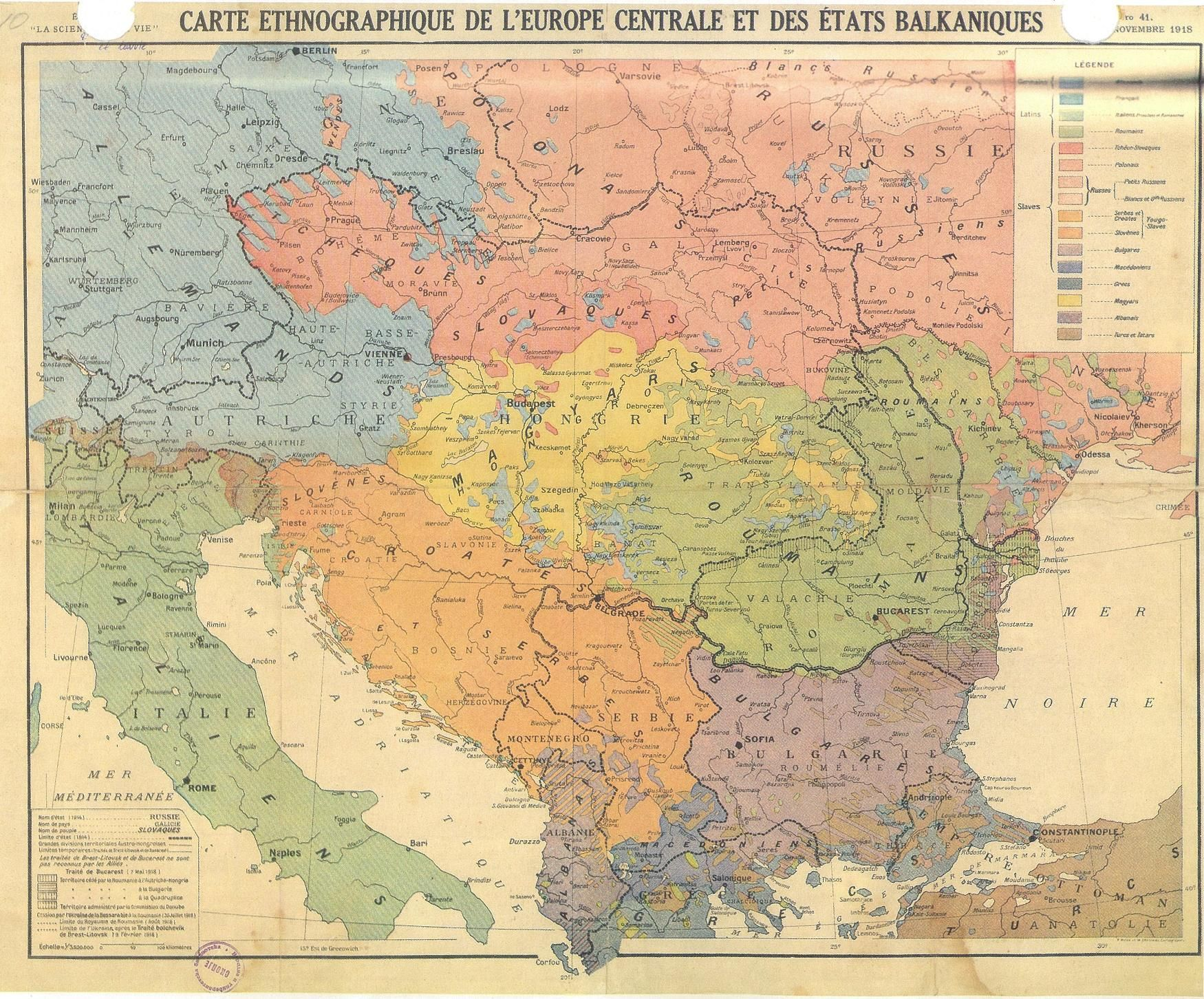 Ethnic Composition Of The Northern Part Of The Balkans In 1880