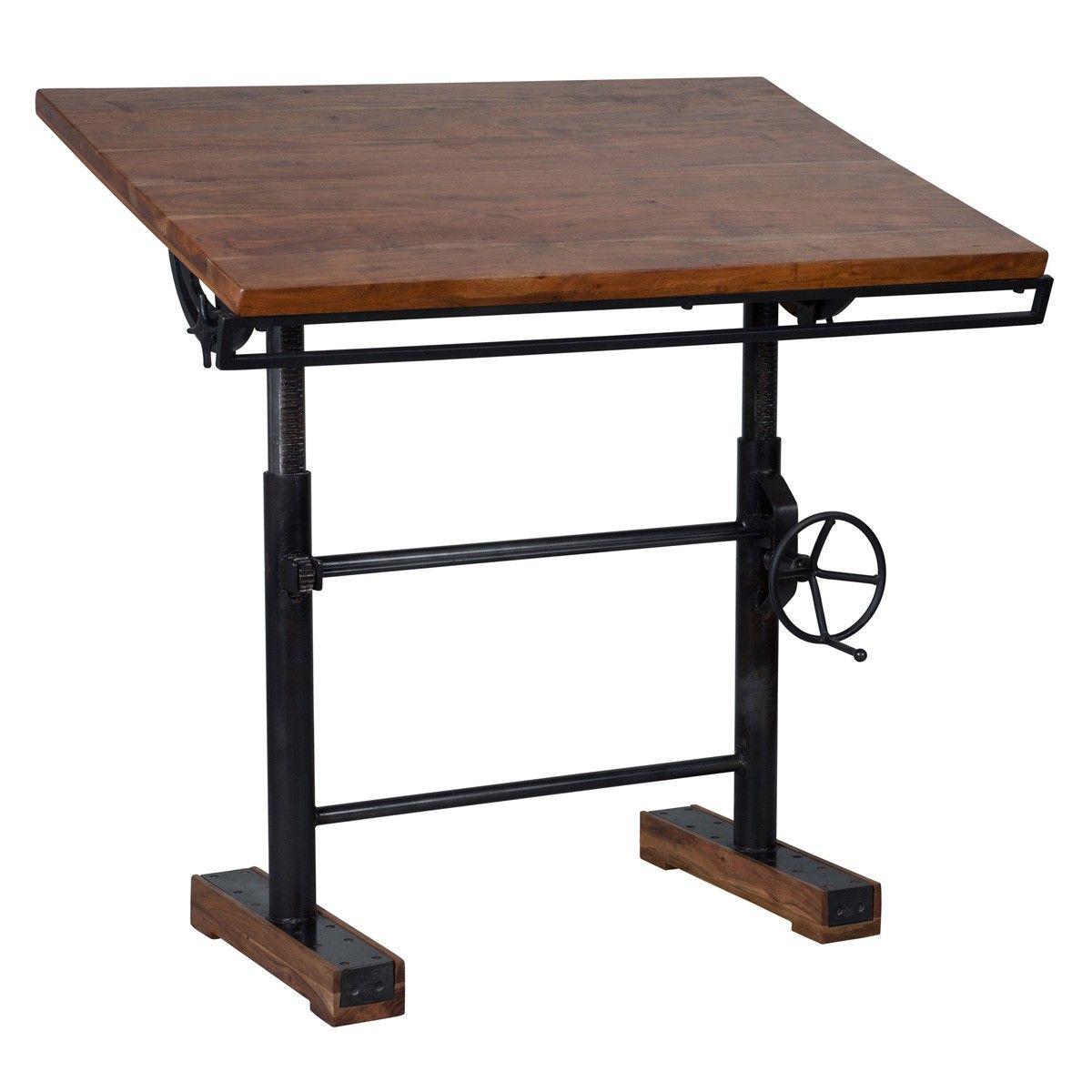 Lloyd Adjustable Desk Desks Furniture Products Handcrafted