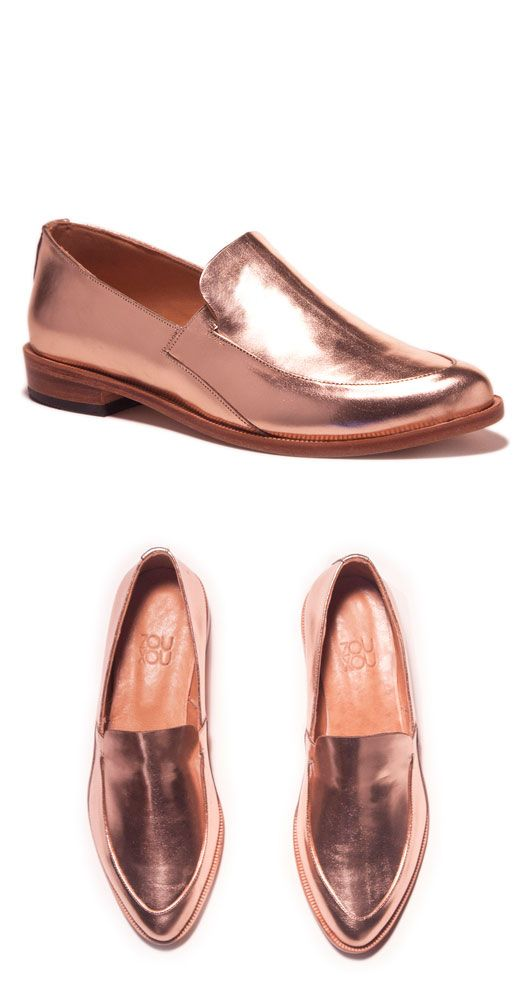 22f2bb728 rose gold loafers --- dreamy | For Feetsies | Rose gold loafers ...