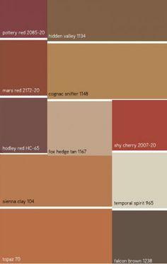 Whole House Rustic Color Palette Google Search House